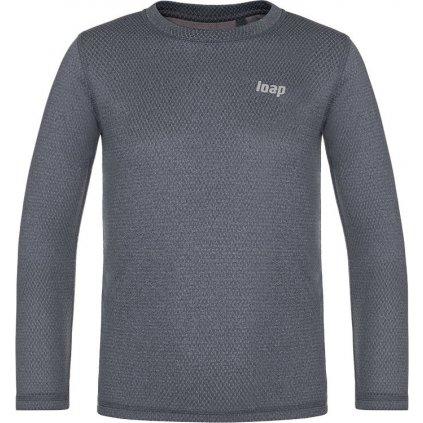 Dětské termo triko LOAP Pixy šedá
