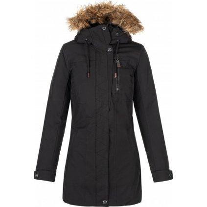 Dámský zimní kabát KILPI Peru-w černá