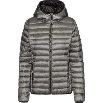 Dámská zimní bunda SAM 73 Dorothy tmavě stříbrná