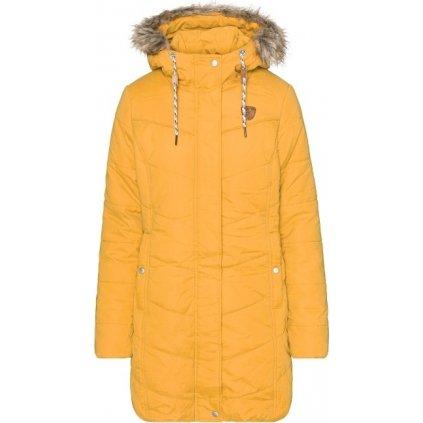 Dámský zimní kabát SAM 73 Amelia žlutá