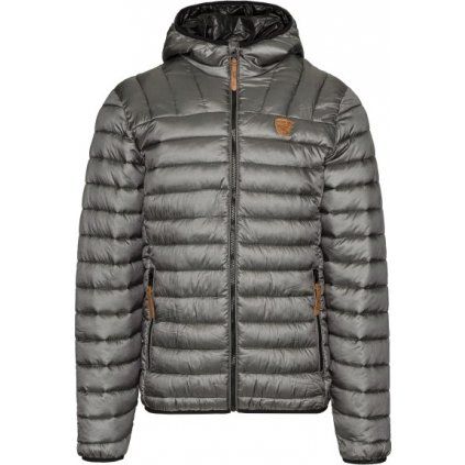 Pánská zimní bunda SAM 73 Connor tmavě stříbrná