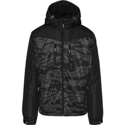 Pánská zimní bunda SAM 73 Aidan černá