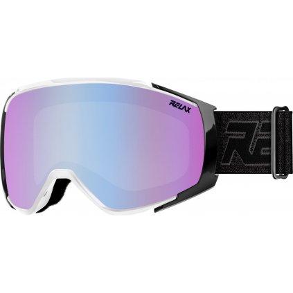 Lyžařské brýle RELAX Skyline bílá