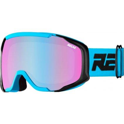 Dětské lyžařské brýle RELAX De-vil modrá