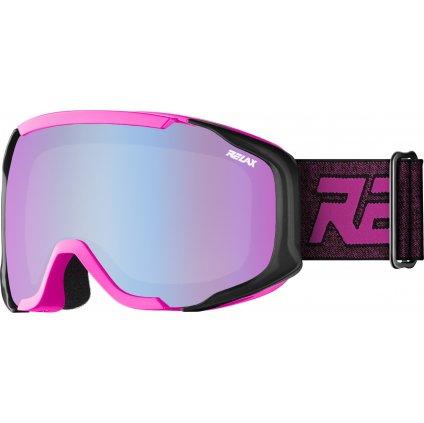 Dětské lyžařské brýle RELAX De-vil růžová