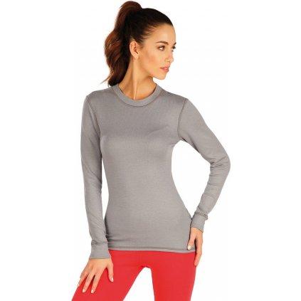 Dámské termo tričko LITEX šedá
