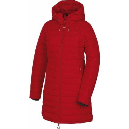 Dámský péřový kabátek HUSKY Daili L červená