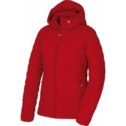 Dámská péřová bunda HUSKY Donnie L červená