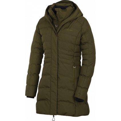 Dámský hardshell plněný kabátek HUSKY Normy L tm. khaki