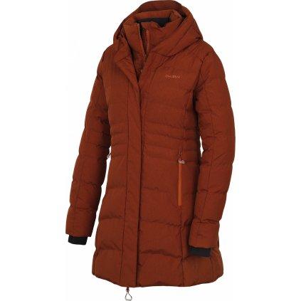 Dámský hardshell plněný kabátek HUSKY Normy L hnědá