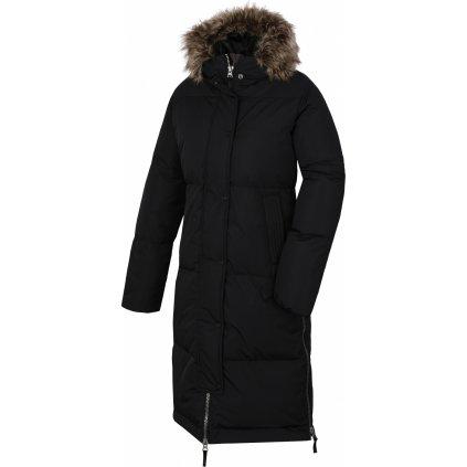 Dámský péřový kabát HUSKY Downbag L černá
