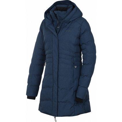 Dámský hardshell plněný kabátek HUSKY Normy L tm. šedomodrá