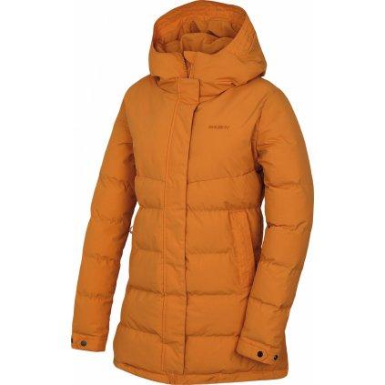 Dámský hardshell plněný kabátek HUSKY Nilit L tl. oranžová