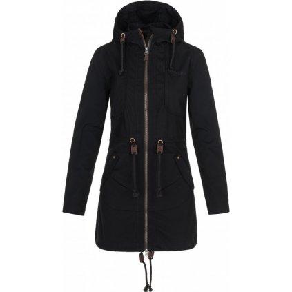 Dámský podzimní kabát KILPI Pau-w černá