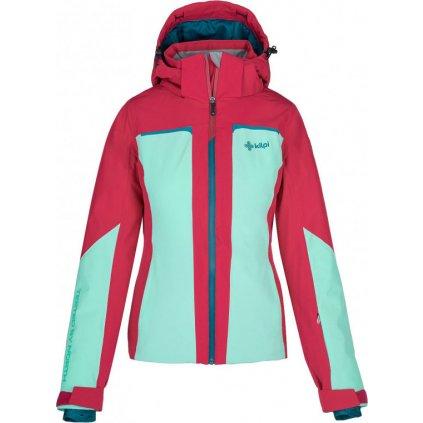 Dámská lyžařská bunda KILPI Madeia-w tyrkysová