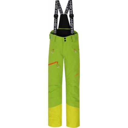 Dětské lyžařské kalhoty HUSKY Gilep Kids zelená
