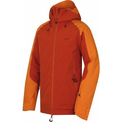 Pánská lyžařská bunda HUSKY Gambola M oranžovohnědá