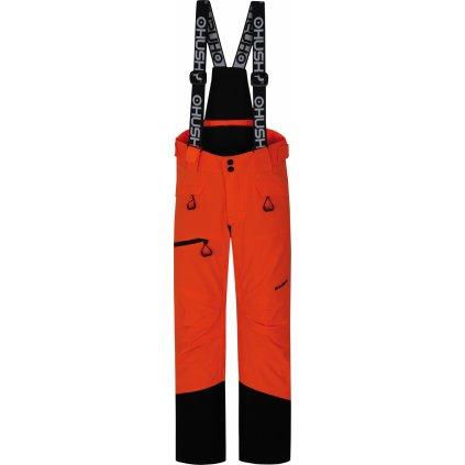 Dětské lyžařské kalhoty HUSKY Gilep Kids neonově oranžová