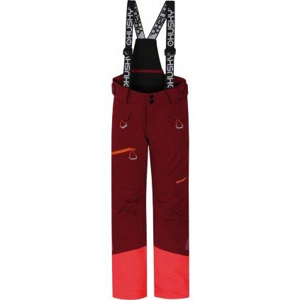 Dětské lyžařské kalhoty HUSKY Gilep Kids purpurová