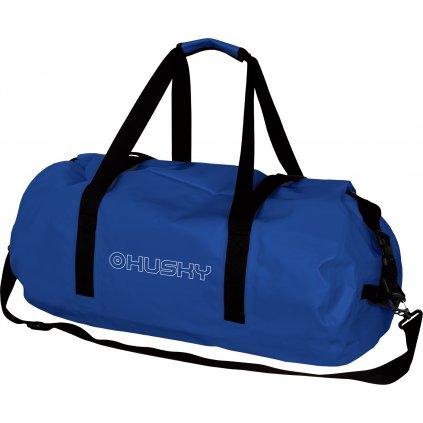 Nepromokavá cestovní taška HUSKY Goofle 40l modrá
