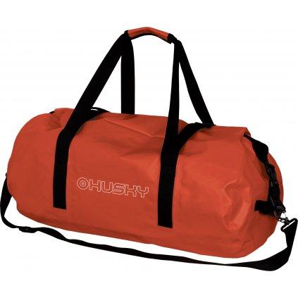 Nepromokavá cestovní taška HUSKY Goofle 40l oranžová