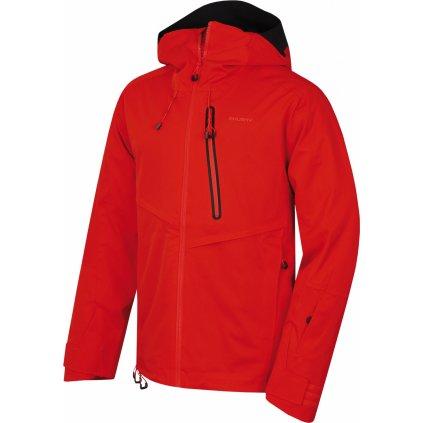 Pánská lyžařská bunda HUSKY Mistral M výrazná cihlová