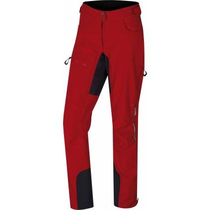 Dámské softshellové kalhoty HUSKY Keson L červená