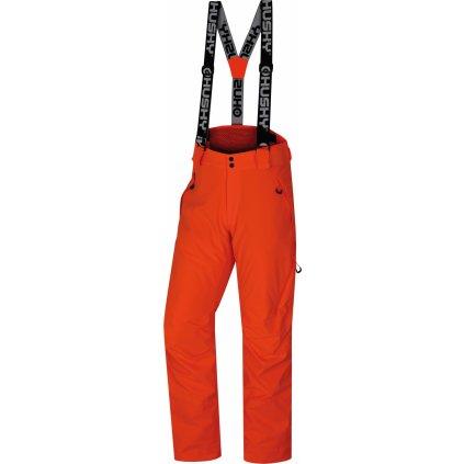 Pánské lyžařské kalhoty HUSKY Mitaly M neonově oranžová