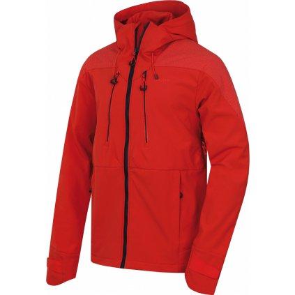 Pánská softshellová bunda HUSKY Sevan M výrazně cihlová