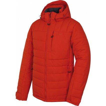 Pánská plněná zimní bunda HUSKY Norel M cihlová