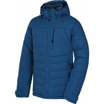 Pánská plněná zimní bunda HUSKY Norel M tl. tm. modrá
