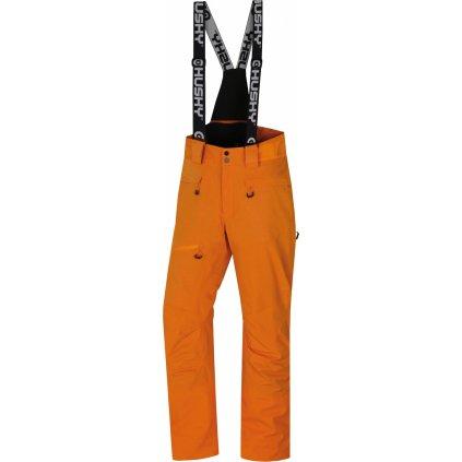 Pánské lyžařské kalhoty HUSKY Gilep M oranžová
