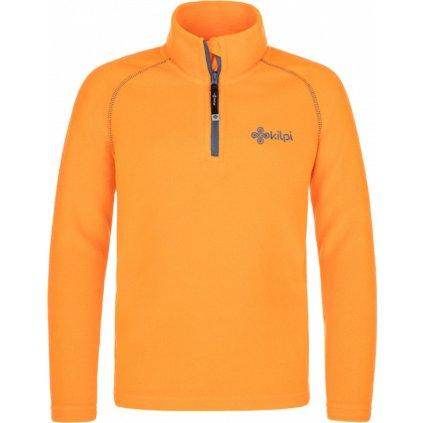 Dětská fleecová mikina KILPI Almagre-j oranžová