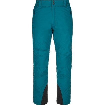 Pánské lyžařské kalhoty KILPI Gabone-m tyrkysová