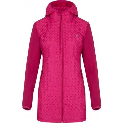 Dámský softshell kabát LOAP Ully růžová