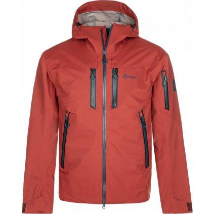 Pánská outdoorová bunda KILPI Hastar-m tmavě červená