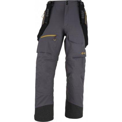 Pánské outdoorové kalhoty KILPI Hyde-m tmavě šedá