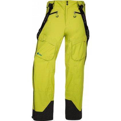 Pánské lyžařské kalhoty KILPI Lazzaro-m světle zelená