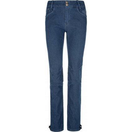 Dámské vycházkové kalhoty KILPI Danny-w tmavě modrá