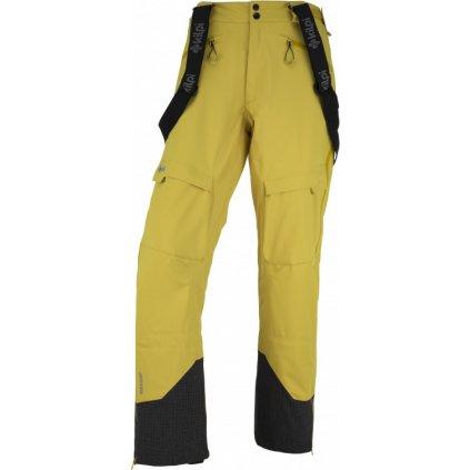 Pánské lyžařské kalhoty KILPI Lazzaro-m žlutá