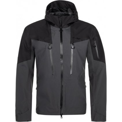 Pánská outdoorová bunda KILPI Lexay-m tmavě šedá