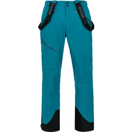 Pánské lyžařské kalhoty KILPI Lazzaro-m tyrkysová