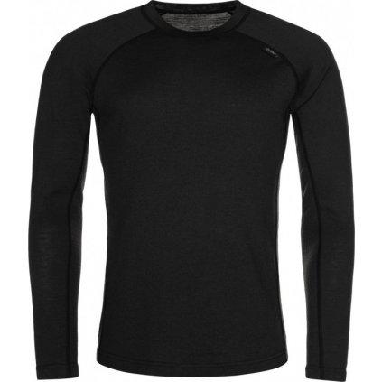 Pánské merino triko KILPI Mavora top-m černá