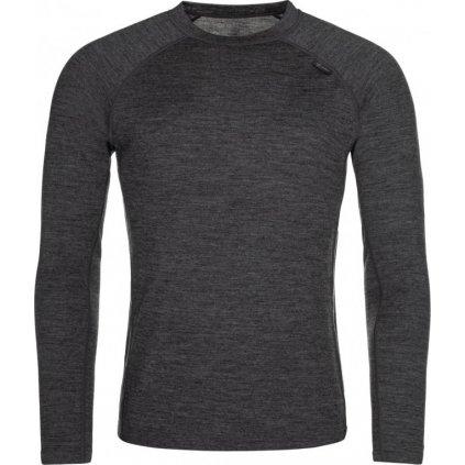 Pánské merino triko KILPI Mavora top-m tmavě šedá