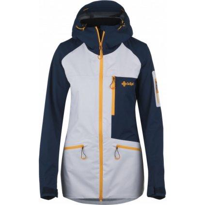 Dámská outdoorová bunda KILPI Nalau-w tmavě modrá