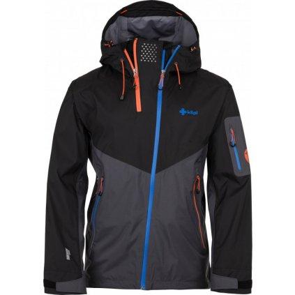 Pánská outdoorová bunda KILPI Metrix-m tmavě šedá