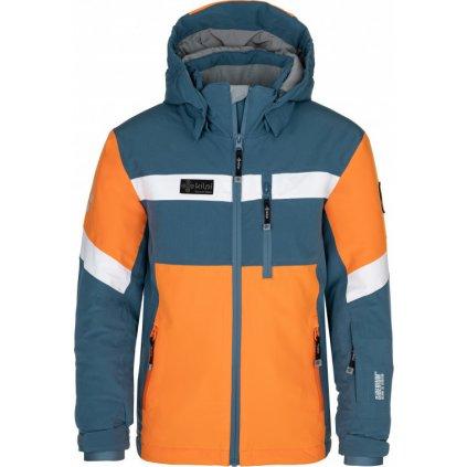 Chlapecká lyžařská bunda KILPI Ponte-jb modrá