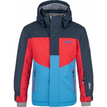 Chlapecká lyžařská bunda KILPI Ober-jb tmavě modrá