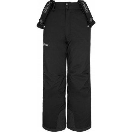 Chlapecké lyžařské kalhoty KILPI Methone-jb černá