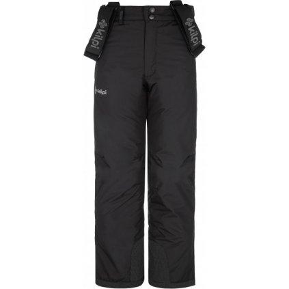 Chlapecké lyžařské kalhoty KILPI Mimas-jb černá